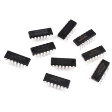 5PCS DS1488N IC INVERTER QUAD 1-INPUT 14DIP DS1488 1488 1488N